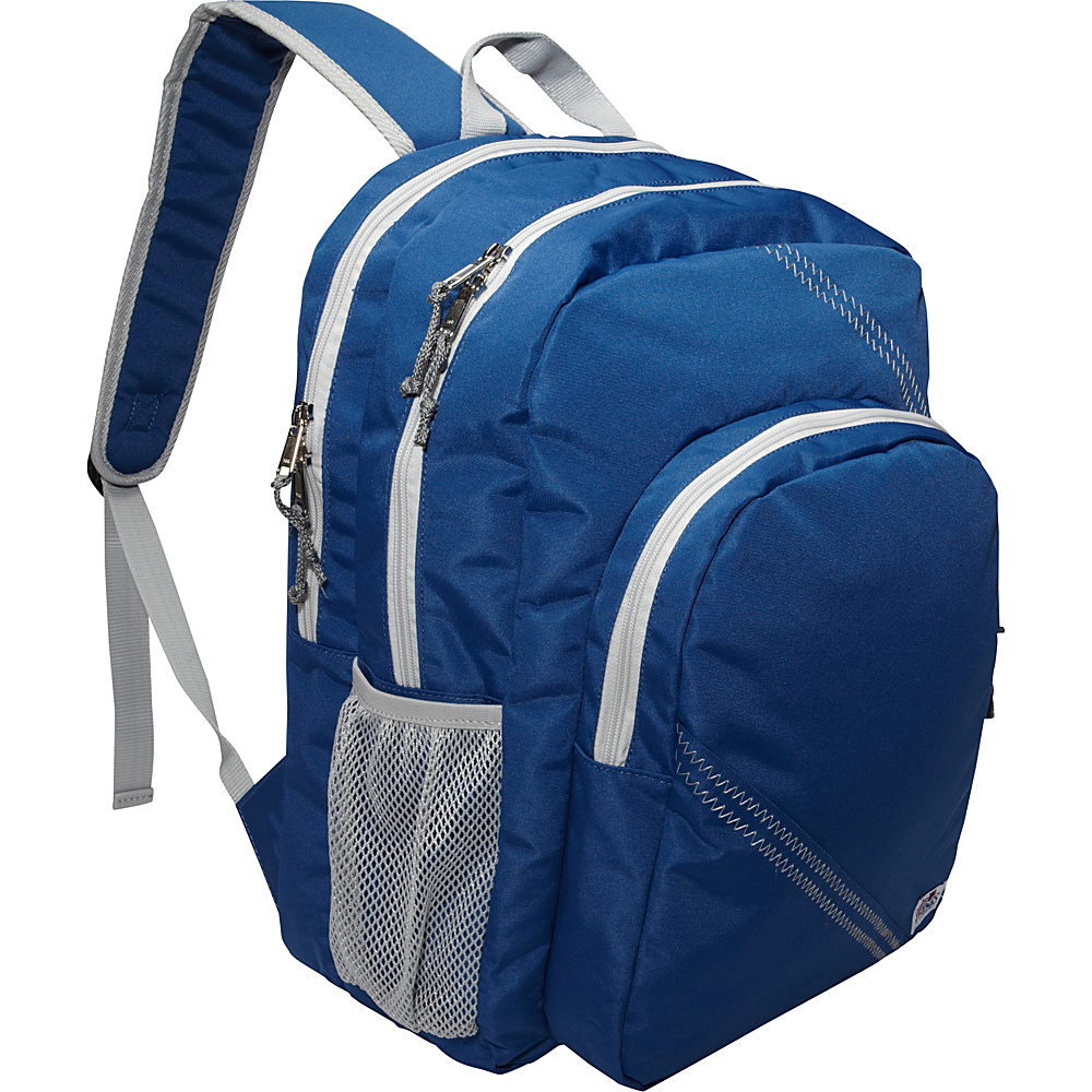 SailorBags Sailcloth Backpack Blue SailorBags Business Laptop Backpacks