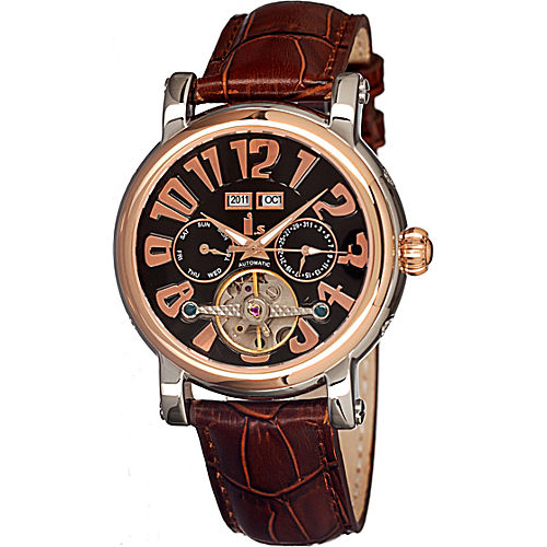 Black Dial; Leather Brown... -  (Currently out of Stock)