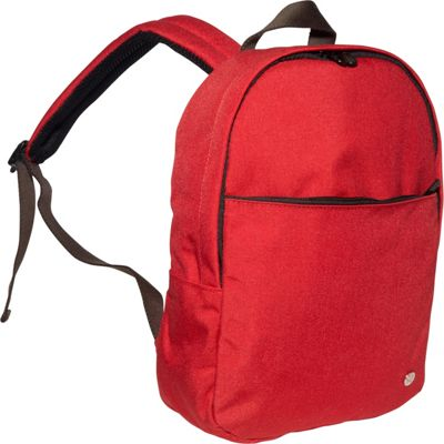 TOKEN University Backpack (S) Red - TOKEN School & Day Hiking Backpacks