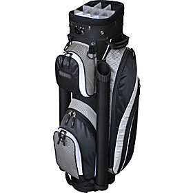 EX-350 Cart Bag- Silver Black Silver Black