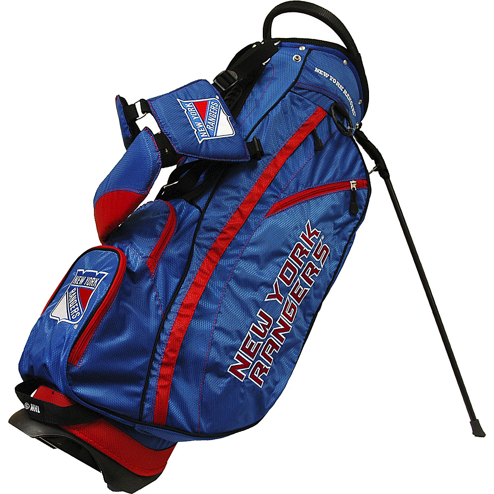 Team Golf USA NHL New York Rangers Fairway Stand Bag Blue - Team Golf USA Golf Bags