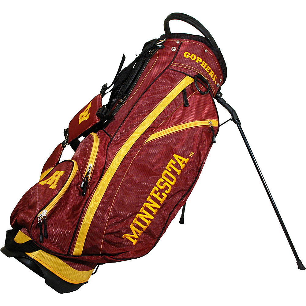 Team Golf USA NCAA University of Minnesota Golden Gophers Fairway Stand Bag Maroon - Team Golf USA Golf Bags