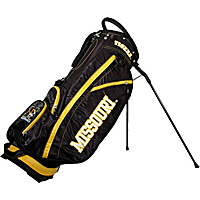 Team Golf NCAA University of Missouri Tigers Fairway Stand Bag Black - Team Golf Golf Bags