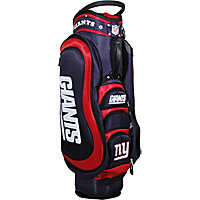 Team Golf NFL New York Giants Medalist Cart Bag Blue - Team Golf Golf Bags