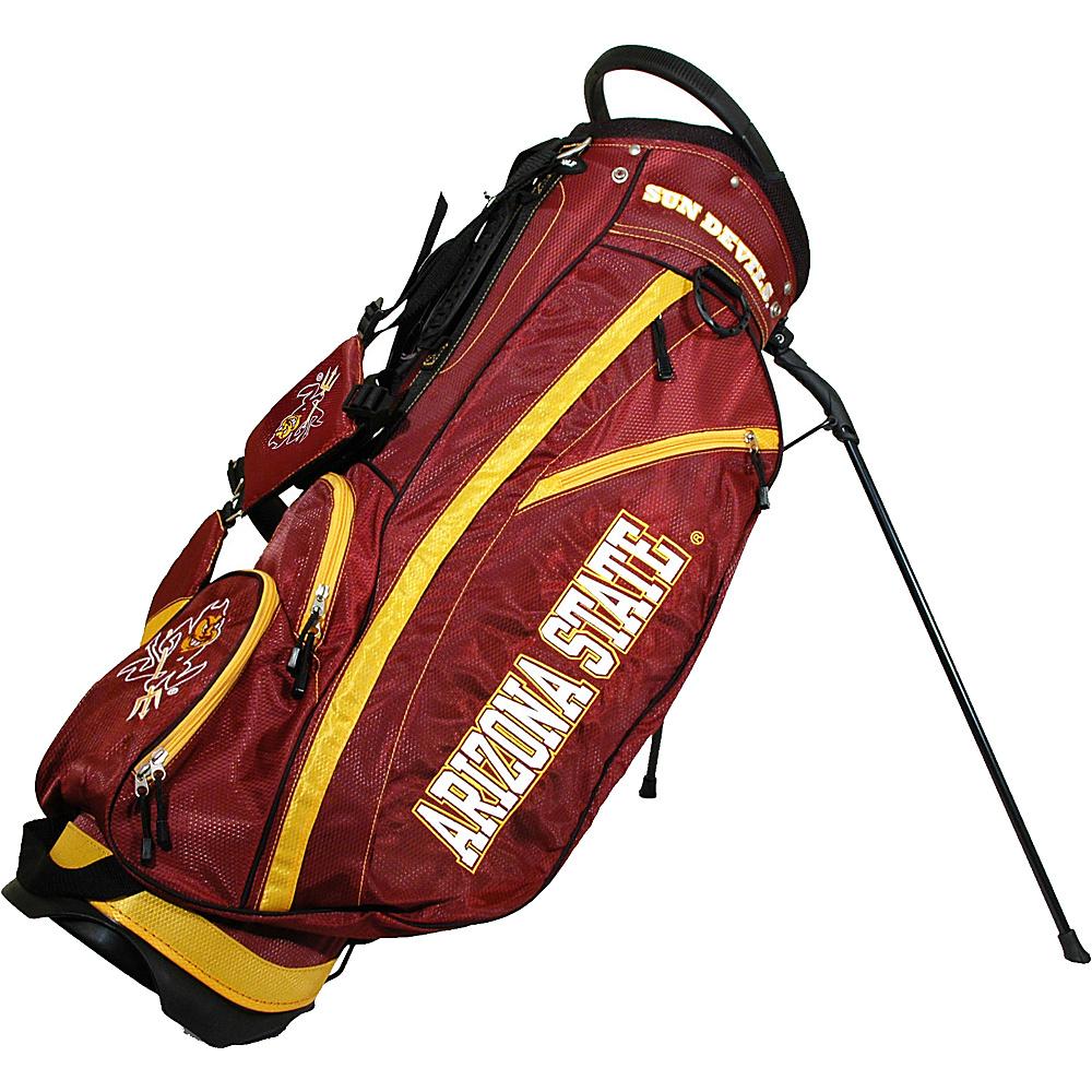 Team Golf USA NCAA Arizona State University Sun Devils Fairway Stand Bag Red - Team Golf USA Golf Bags