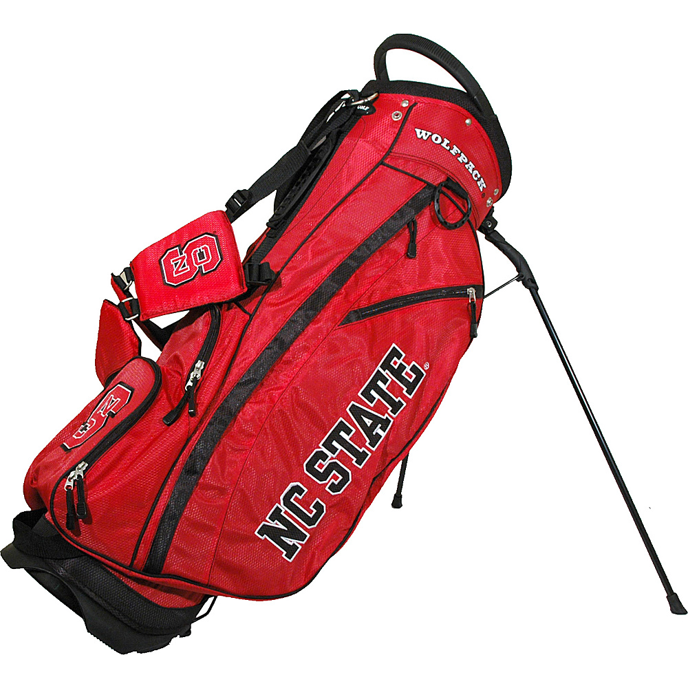 Team Golf USA NCAA North Carolina State University Wolfpack Fairway Stand Bag Red - Team Golf USA Golf Bags