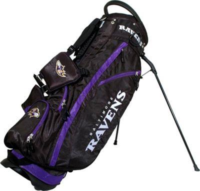 Team Golf USA NFL Baltimore Ravens Fairway Stand Bag Blac...