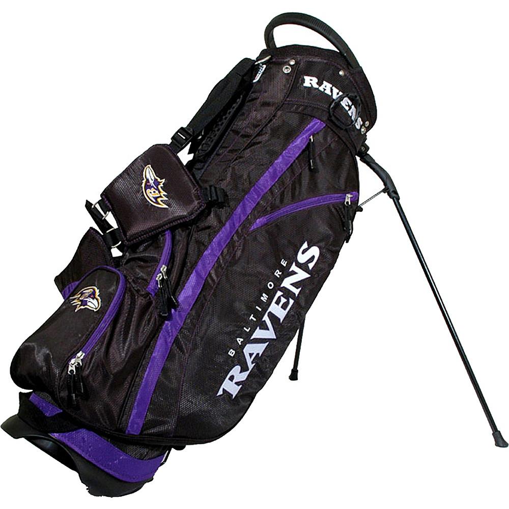 Team Golf USA NFL Baltimore Ravens Fairway Stand Bag Black - Team Golf USA Golf Bags