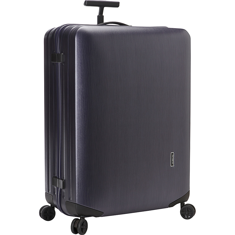 "Samsonite Inova 30"" Hardside Spinner Luggage Indigo Blue - Samsonite Hardside Checked"