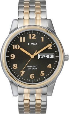 Timex Men's Expansion Watch Siver tone and Gold tone - Ti...