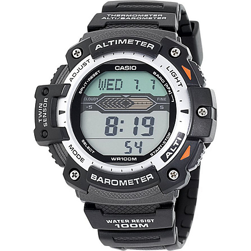 Casio Men's Twin Sensor Multi-Function Digital Sport Watch Black - Casio Watches
