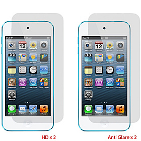 4-Pk Screen Protectors for iPod Touch 5 AGHD