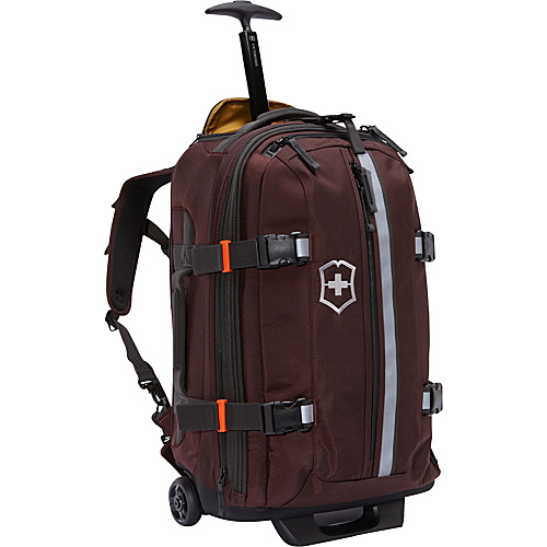 Victorinox CH 97 2.0 22 Tourist Carry-On Purple - Victorinox Small Rolling Luggage