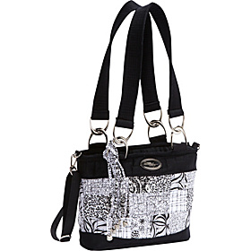 Jenna Shoulder Bag, Salt & Pepper   Salt & Pepper