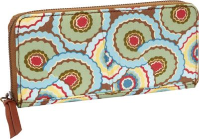Amy Butler for Kalencom Treasure Wallet Dancing Umbrellas - Amy Butler for Kalencom Women's Wallets