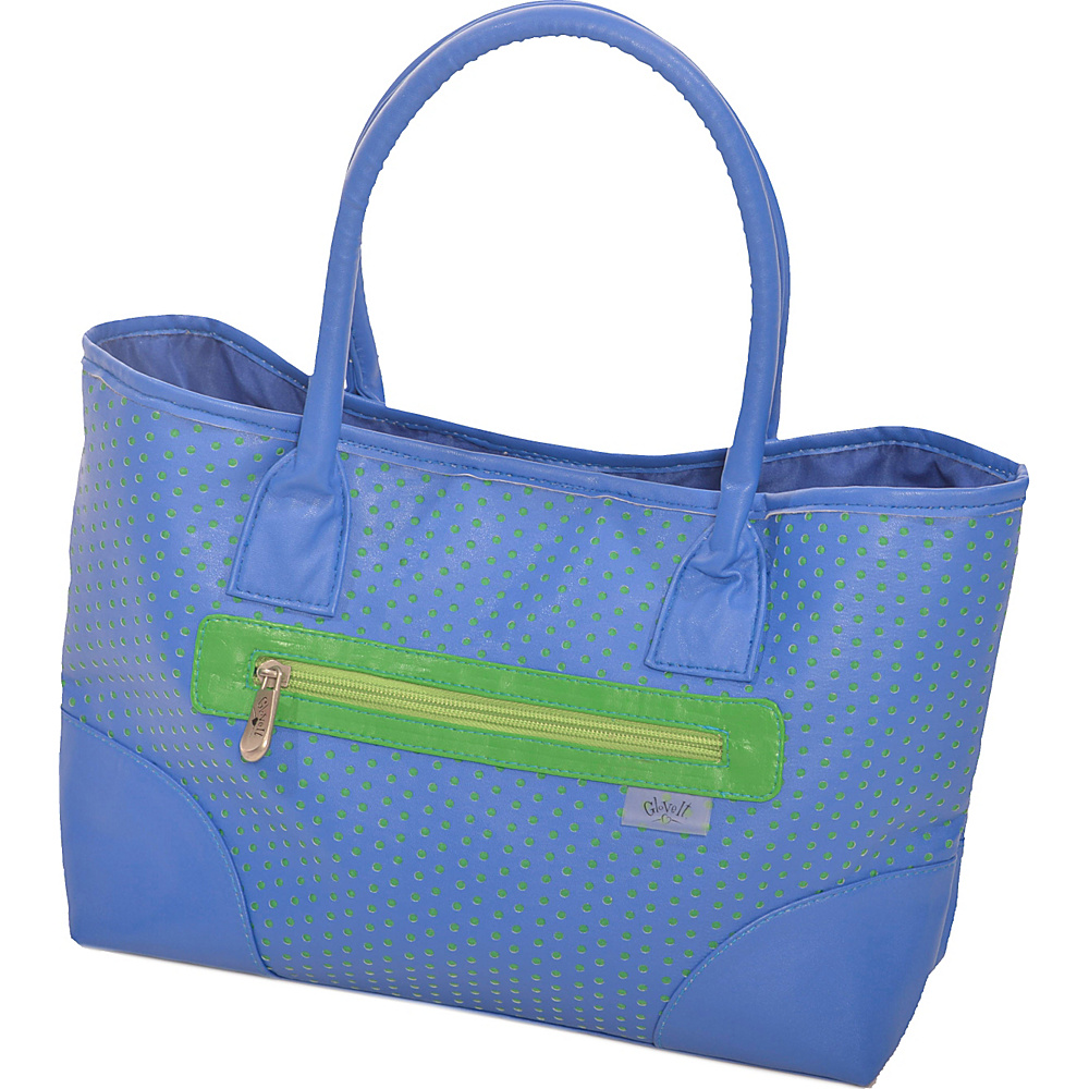 Glove It Signature Collection Mid-Size Tote Bag Blue/Green Perf - Glove It All-Purpose Totes