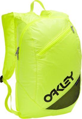 ... Lite Backpack Neon Yellow - Oakley School & Day Hiking Backpacks