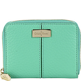 Village Medium Zip Wallet Green Thumb