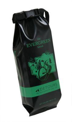 Detours Coffee Bag Black/Green/WA - Detours Other Sports Bags