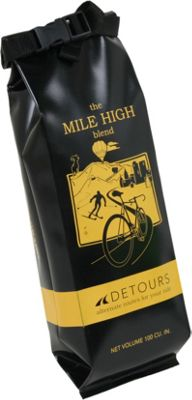 Detours Coffee Bag Black/Yellow/CO - Detours Other Sports Bags