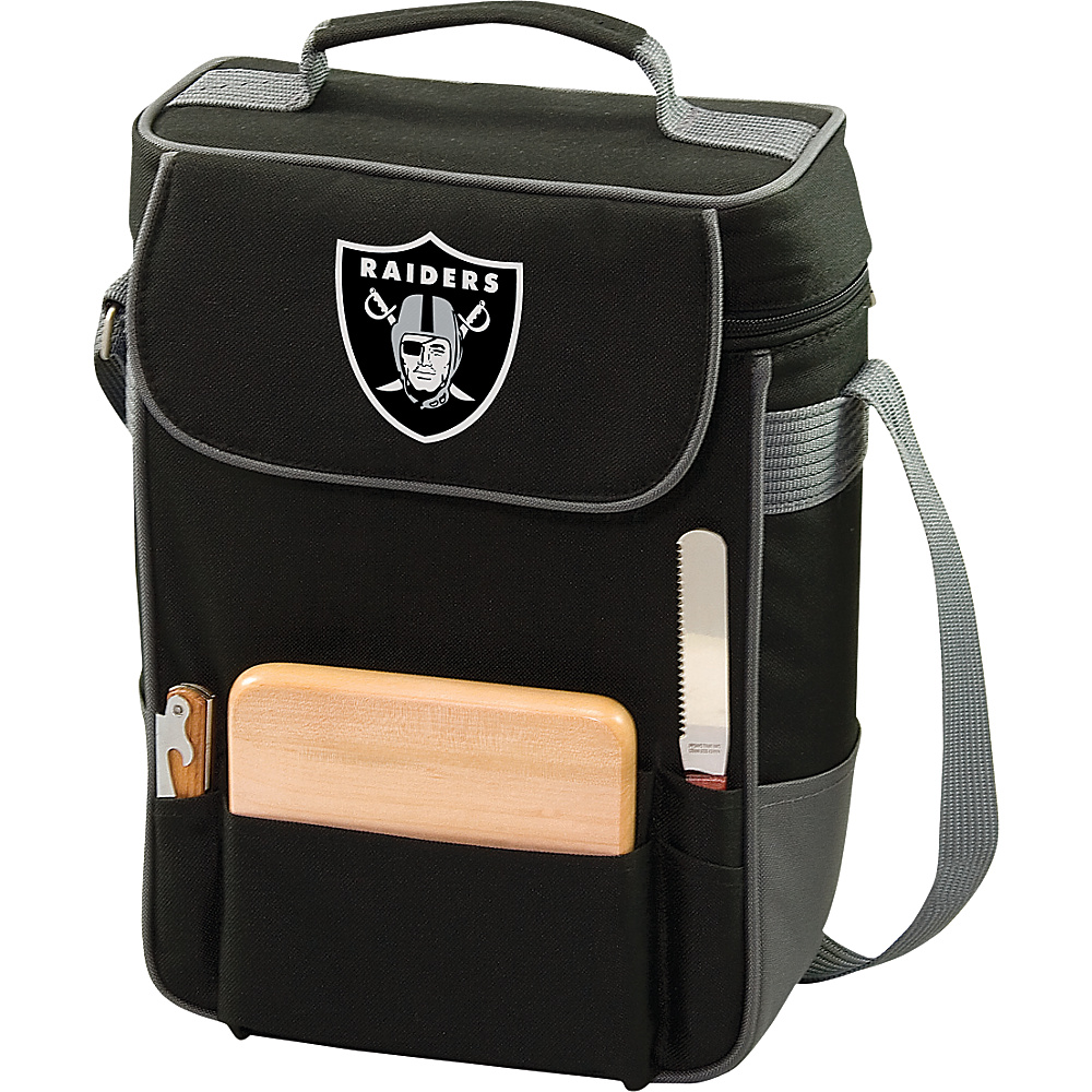 Picnic Time Oakland Raiders Duet Wine & Cheese Tote Oakland Raiders - Picnic Time Outdoor Coolers - Outdoor, Outdoor Coolers
