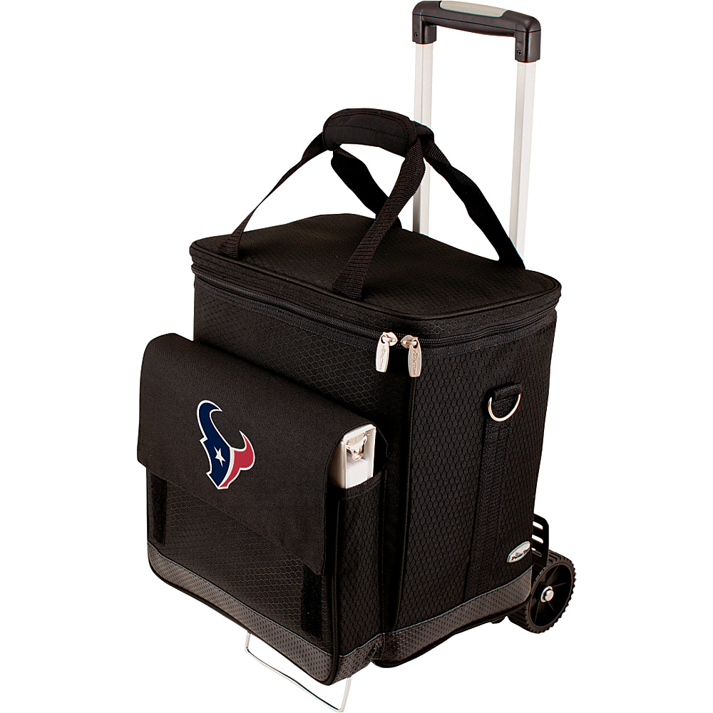 Picnic Time Houston Texans Cellar w/Trolley Houston Texans - Picnic Time Outdoor Coolers - Outdoor, Outdoor Coolers