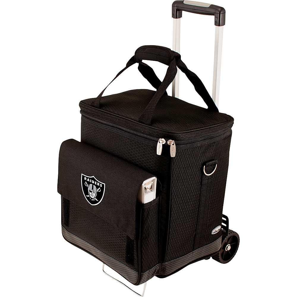 Picnic Time Oakland Raiders Cellar w/Trolley Oakland Raiders - Picnic Time Outdoor Coolers - Outdoor, Outdoor Coolers