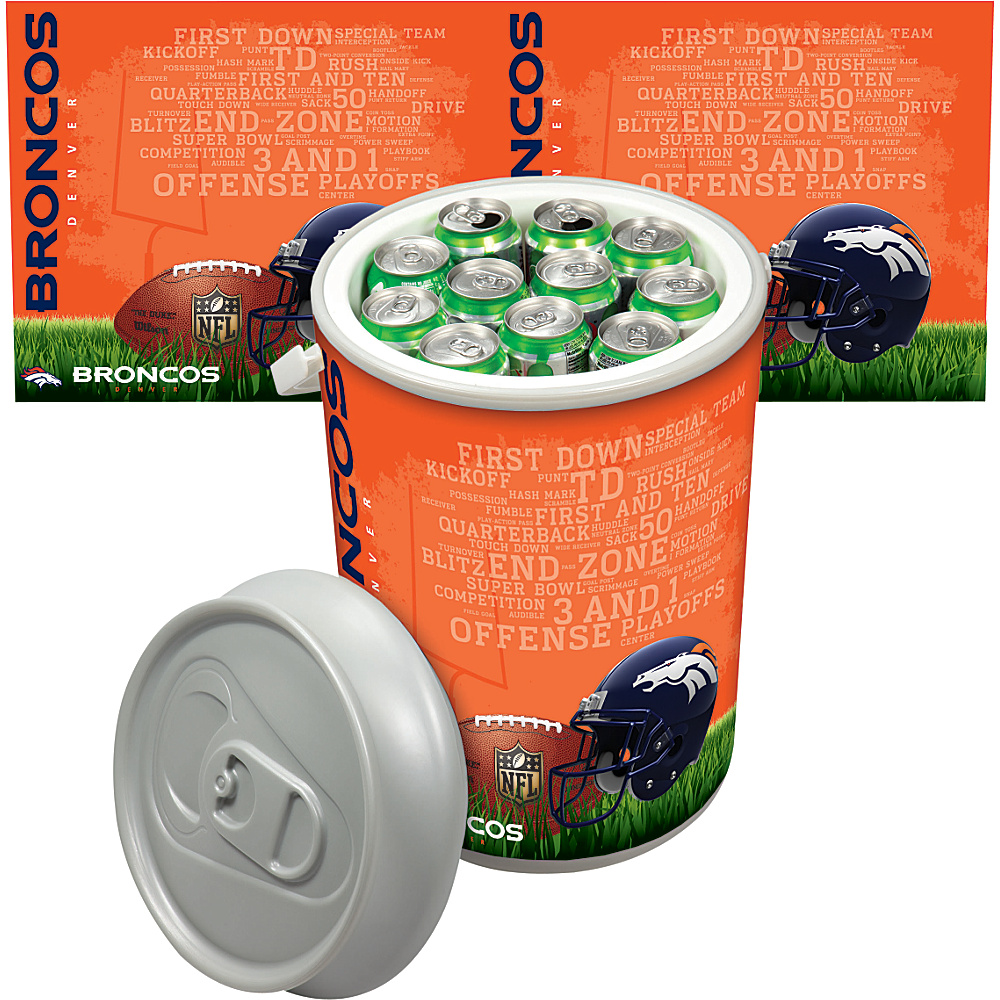 Picnic Time Denver Broncos Mega Can Cooler Denver Broncos - Picnic Time Outdoor Coolers - Outdoor, Outdoor Coolers