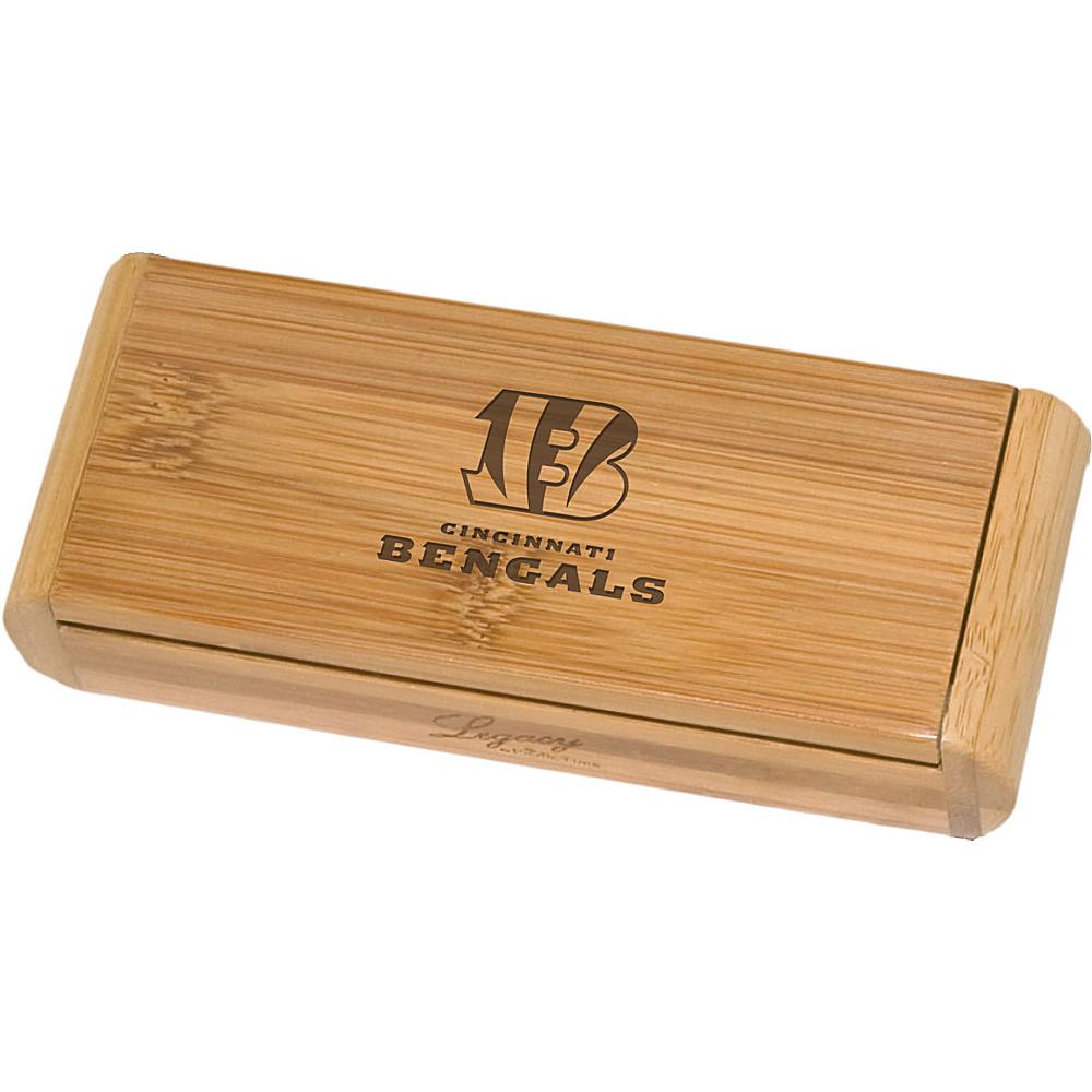 Picnic Time Cincinnati Bengals Elan Bamboo Corkscrew Cincinnati Bengals - Picnic Time Outdoor Accessories - Outdoor, Outdoor Accessories