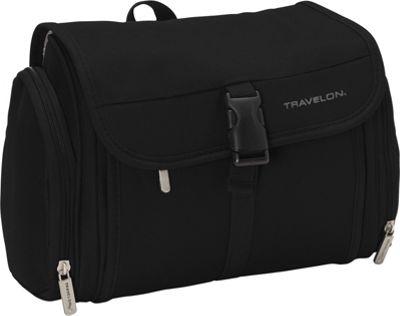 Travelon Hanging Toiletry Kit Black - Travelon Toiletry Kits
