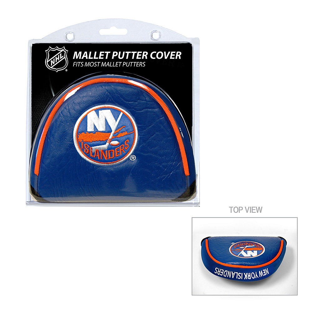Team Golf USA New York Islanders Mallet Putter Cover Team Color - Team Golf USA Golf Bags