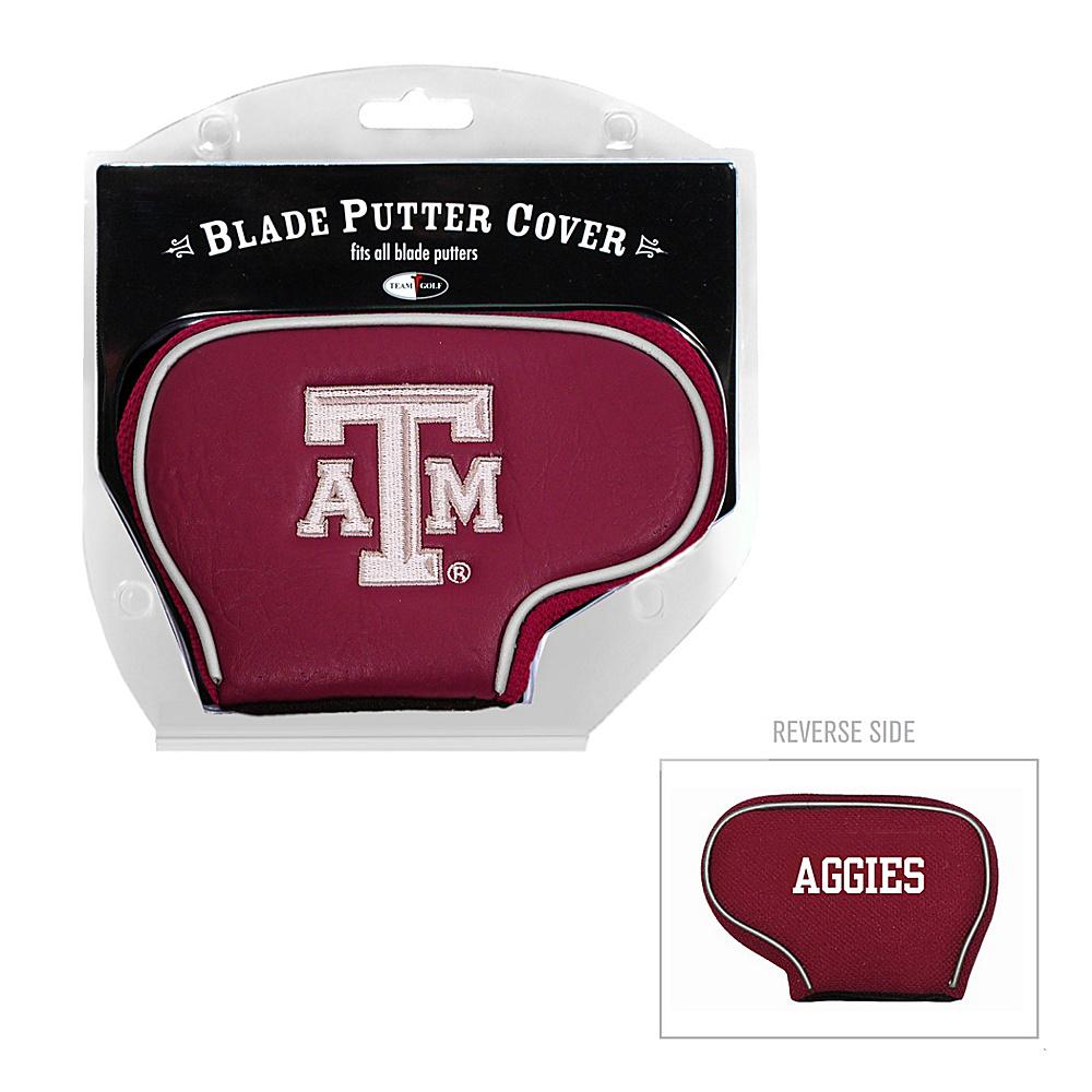 Team Golf USA Texas A & M University Aggies Blade Putter Cover Team Color - Team Golf USA Golf Bags