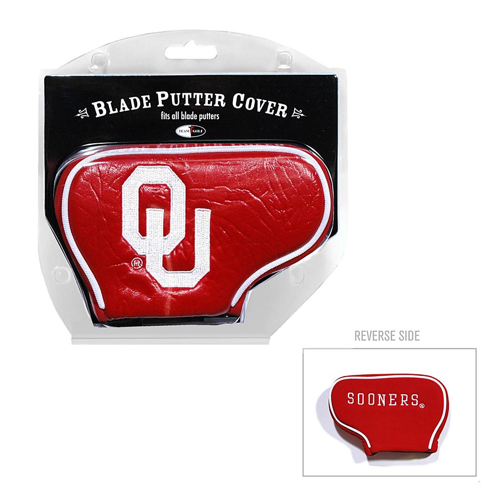 Team Golf USA University of Oklahoma Sooners Blade Putter Cover Team Color - Team Golf USA Golf Bags