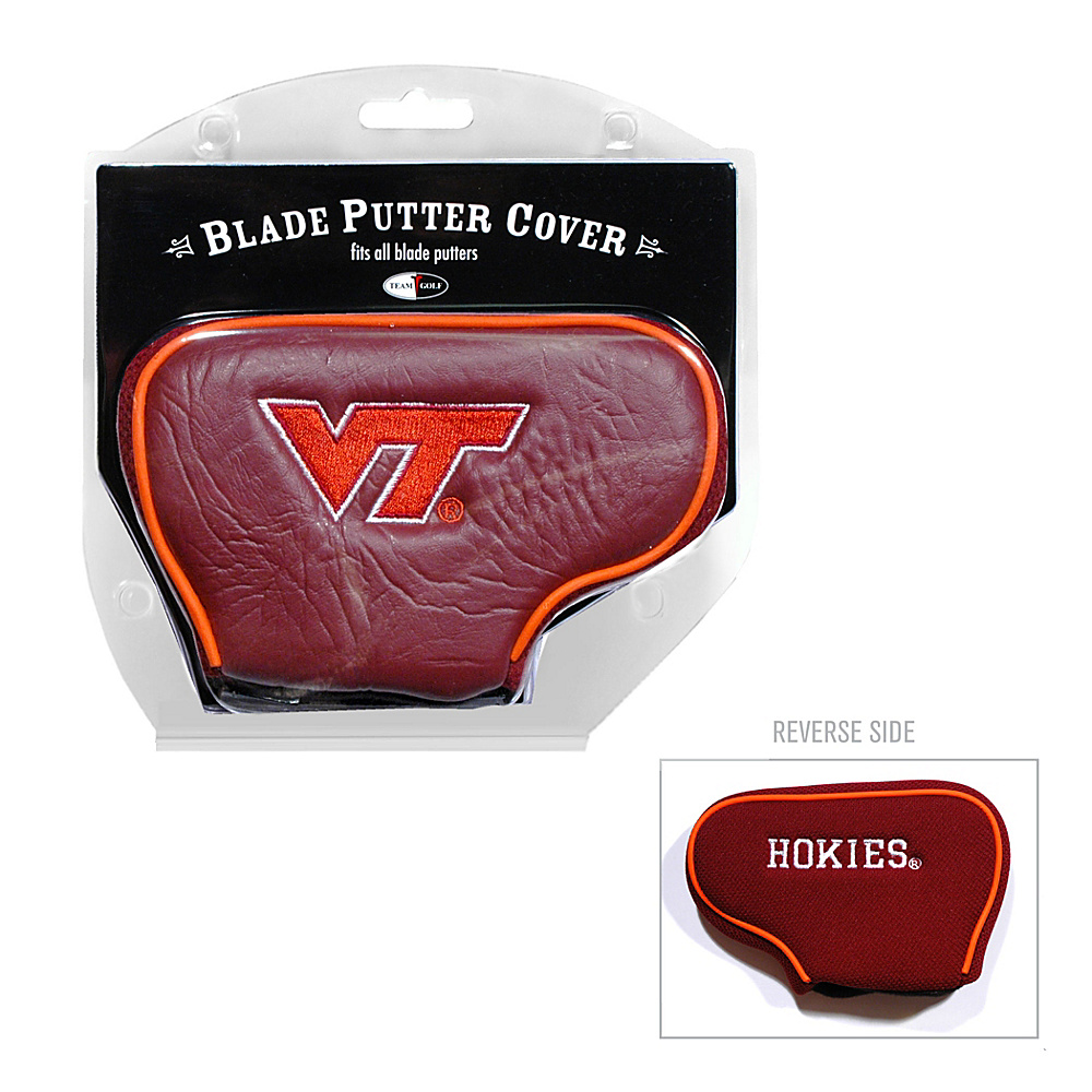 Team Golf USA Virginia Tech University Hokies Blade Putter Cover Team Color - Team Golf USA Golf Bags