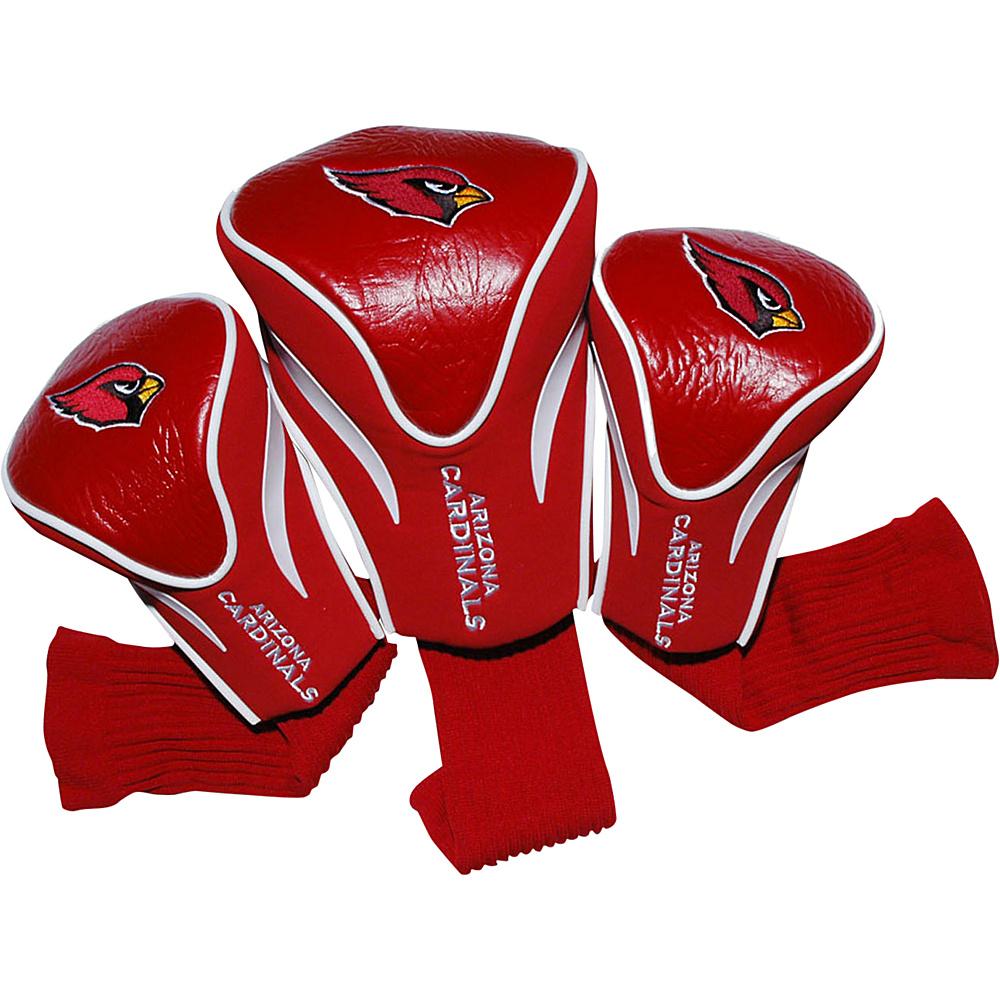 Team Golf USA Arizona Cardinals 3 Pack Contour Headcover Team Color - Team Golf USA Golf Bags