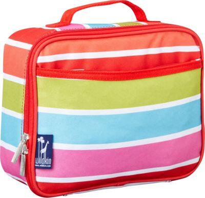 Wildkin Bright Stripes Lunch Box Bright Stripes - Wildkin Travel Coolers