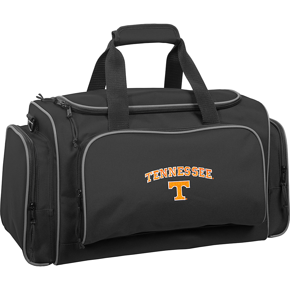 Wally Bags University of Tennessee Volunteers 21 Collegiate Duffel Black Wally Bags Rolling Duffels
