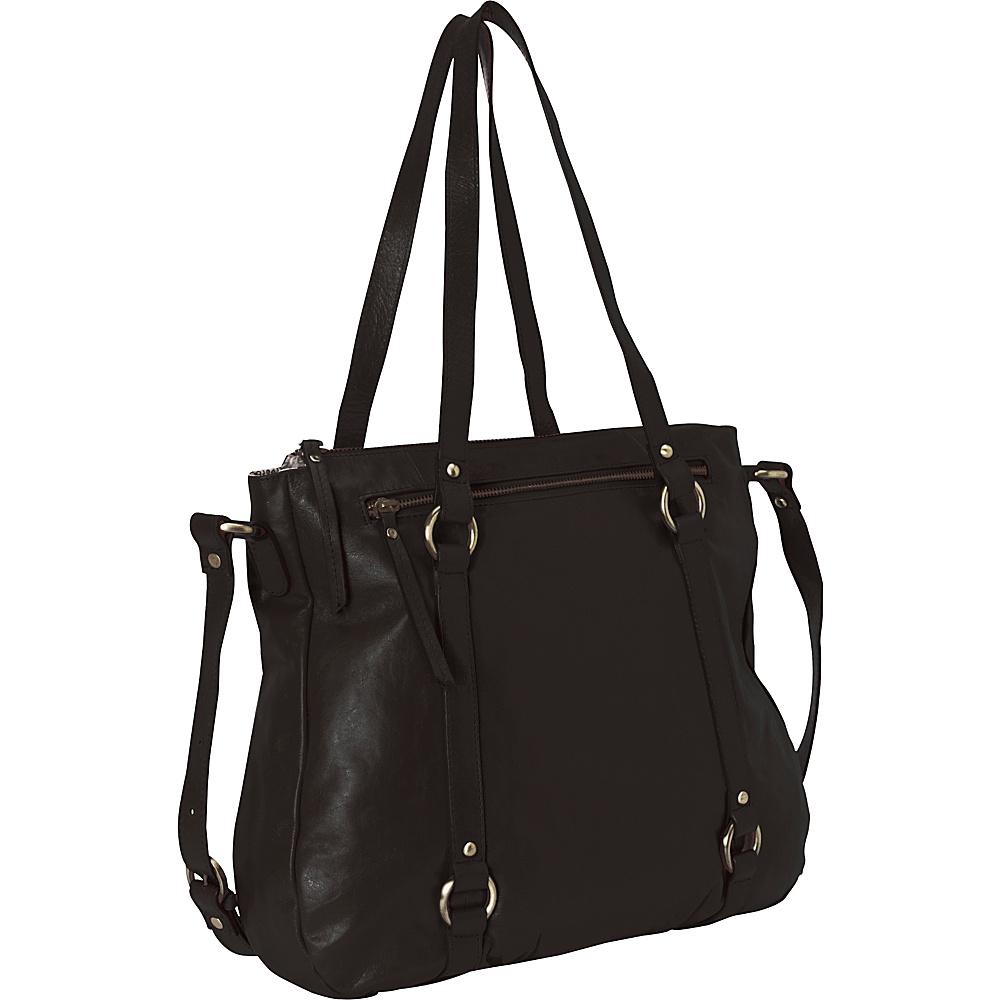 Latico Leathers Buffy Espresso - Latico Leathers Leather Handbags - Handbags, Leather Handbags