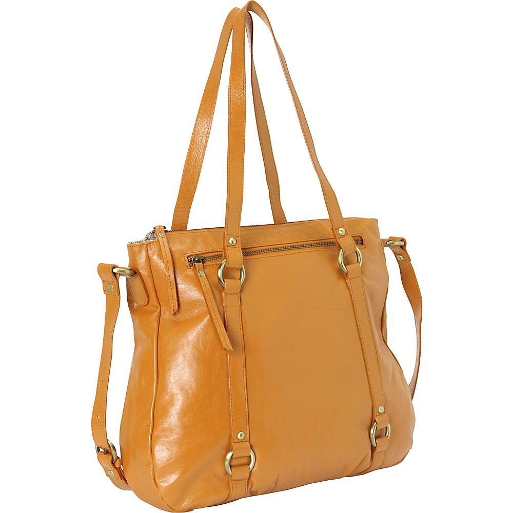 Latico Leathers Buffy Gold - Latico Leathers Leather Handbags - Handbags, Leather Handbags