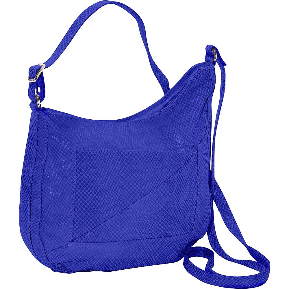 Latico Leathers Charlie Hobo Blue - Latico Leathers Leather Handbags - Handbags, Leather Handbags