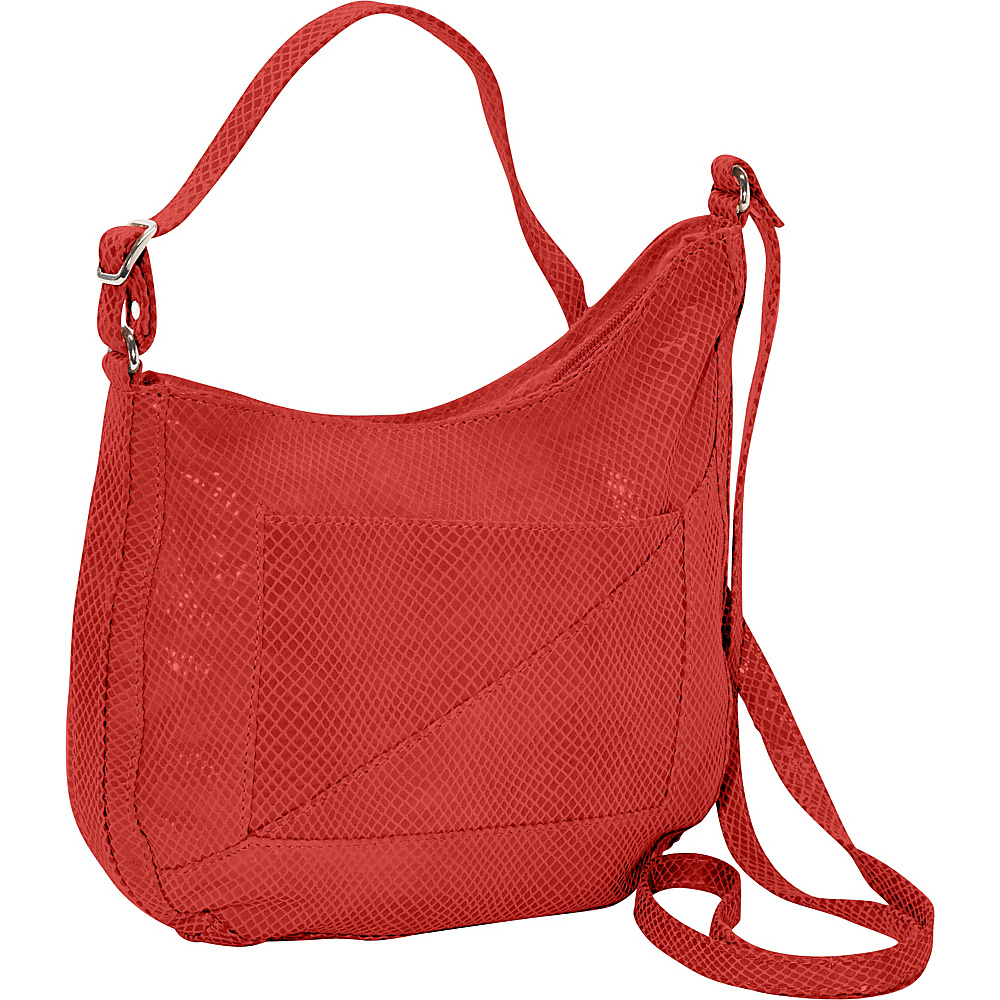Latico Leathers Charlie Hobo Red - Latico Leathers Leather Handbags - Handbags, Leather Handbags