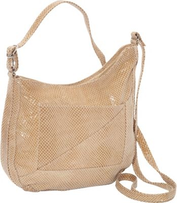 Latico Leathers Charlie Hobo Cream - Latico Leathers Leather Handbags