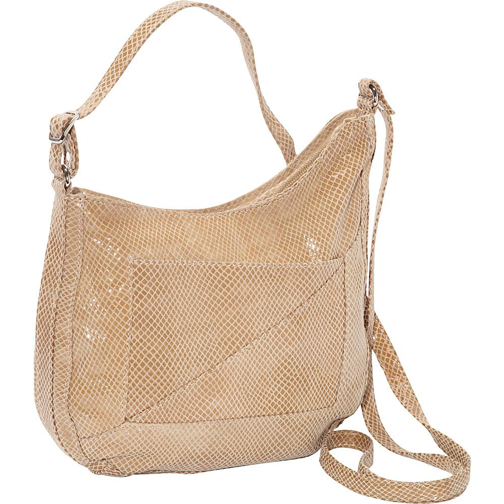 Latico Leathers Charlie Hobo Cream Latico Leathers Leather Handbags