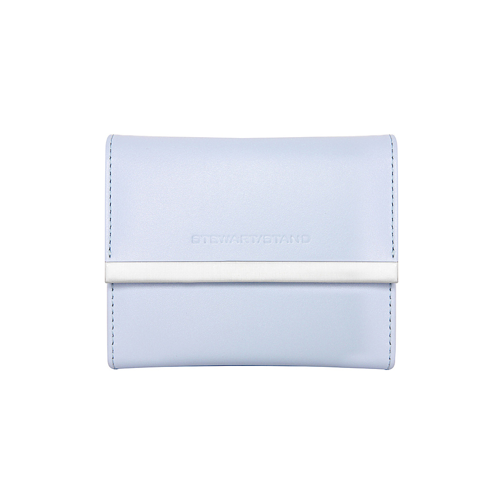 Stewart Stand French Purse Stainless Steel Wallet RFID Perwinkle Stewart Stand Women s Wallets