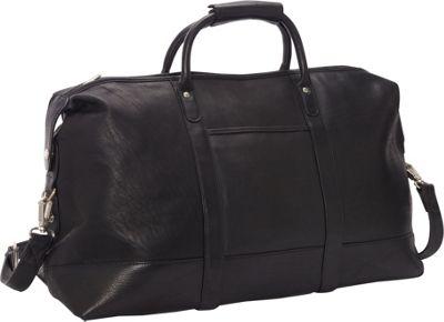 Le Donne Leather Classic Duffle Black - Le Donne Leather Travel Duffels