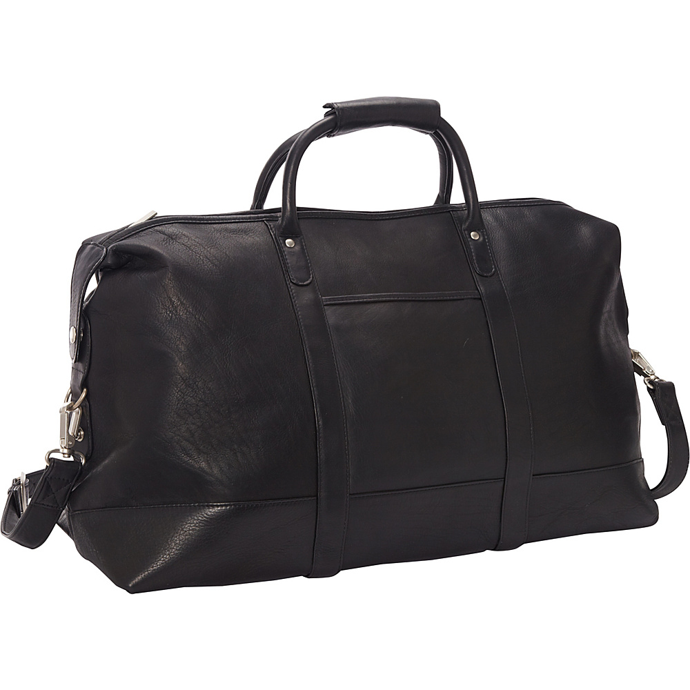 Le Donne Leather Classic Duffle Black - Le Donne Leather Travel Duffels - Duffels, Travel Duffels