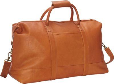 Le Donne Leather Classic Duffle Tan - Le Donne Leather Travel Duffels