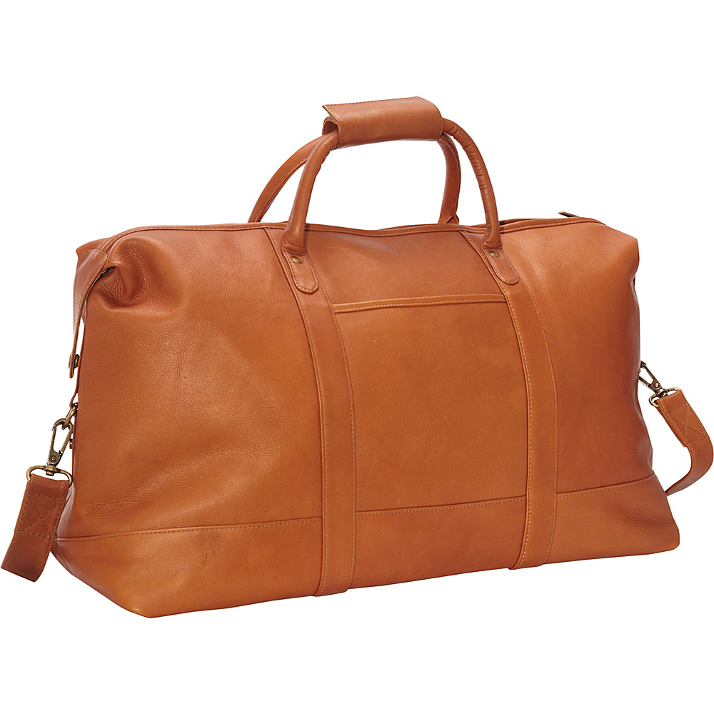 Le Donne Leather Classic Duffle Tan - Le Donne Leather Travel Duffels - Duffels, Travel Duffels