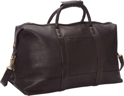 Le Donne Leather Classic Duffle Cafe - Le Donne Leather Travel Duffels