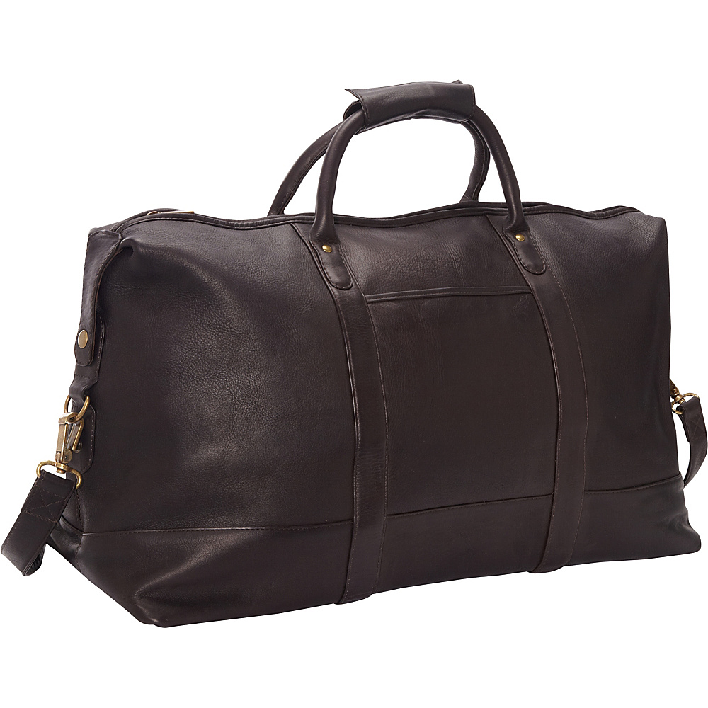 Le Donne Leather Classic Duffle Cafe - Le Donne Leather Travel Duffels - Duffels, Travel Duffels